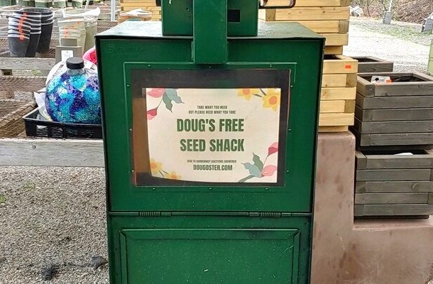 Testing for Doug's Free Seed Shack at Hahn Nursery
